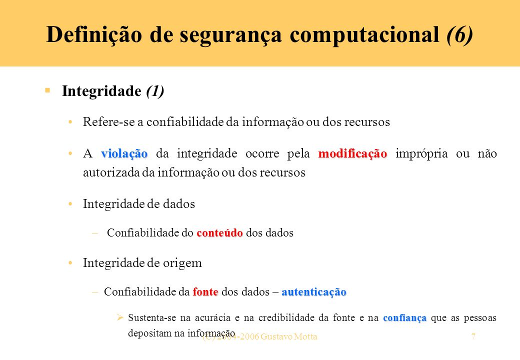Definição de segurança computacional (6)