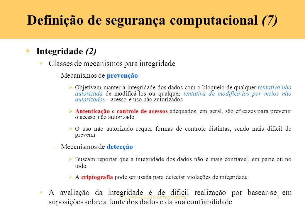 Definição de segurança computacional (7)