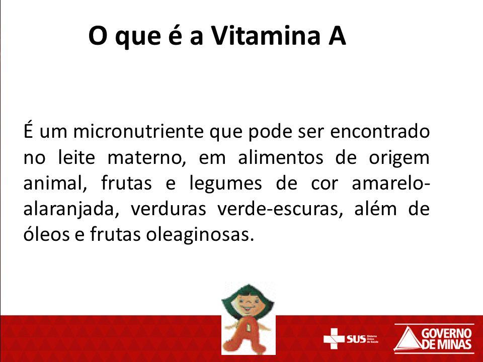 O que é a Vitamina A