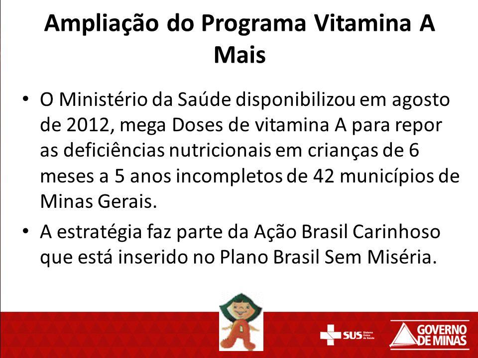 Ampliação do Programa Vitamina A Mais