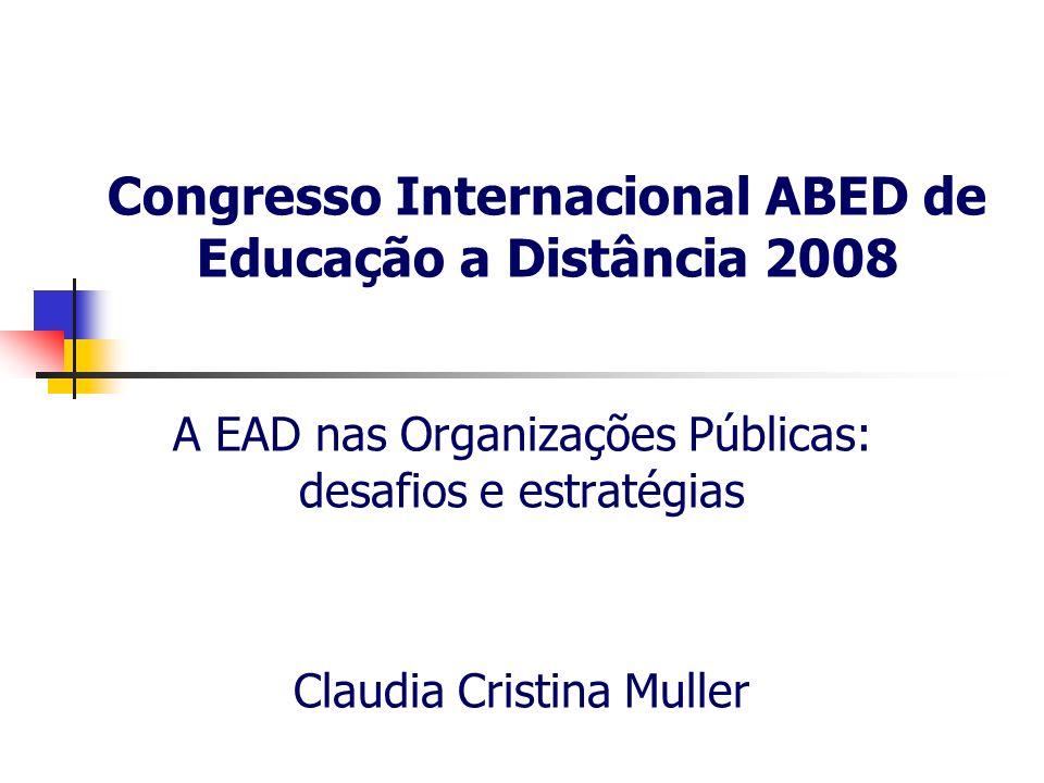 Congresso Internacional ABED de Educação a Distância 2008
