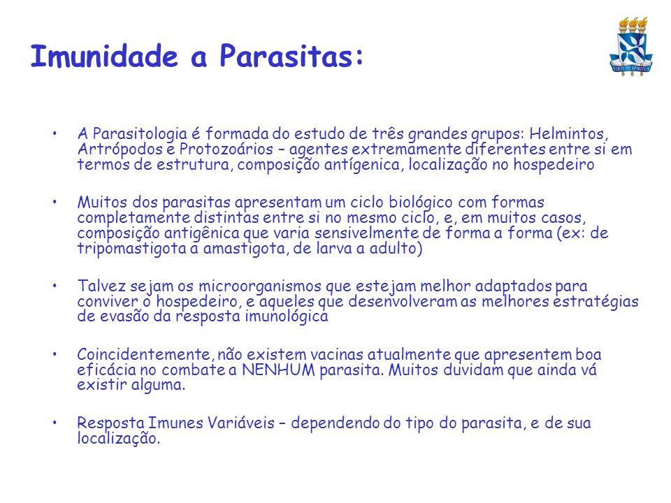 Imunidade a Parasitas: