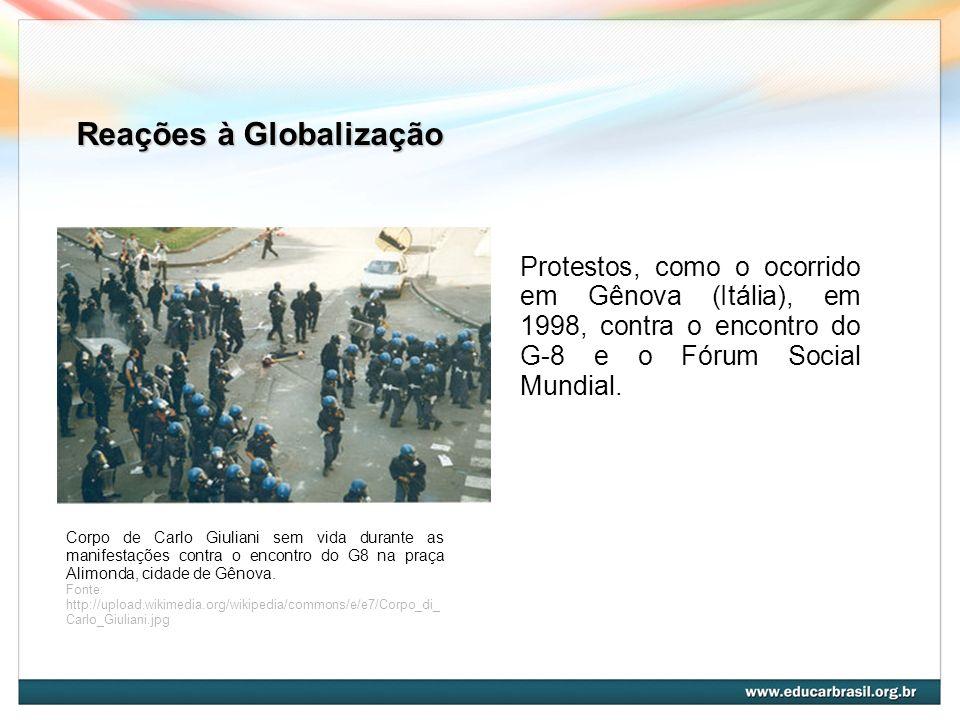 Reações à Globalização