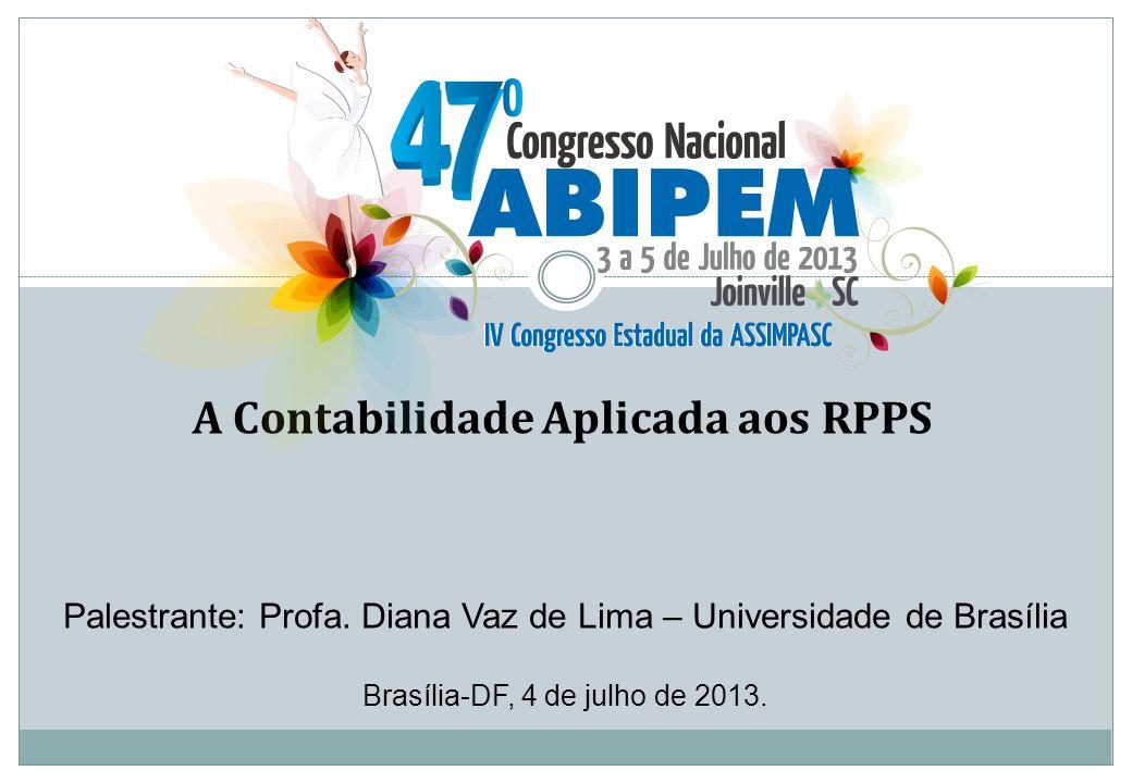 A Contabilidade Aplicada aos RPPS