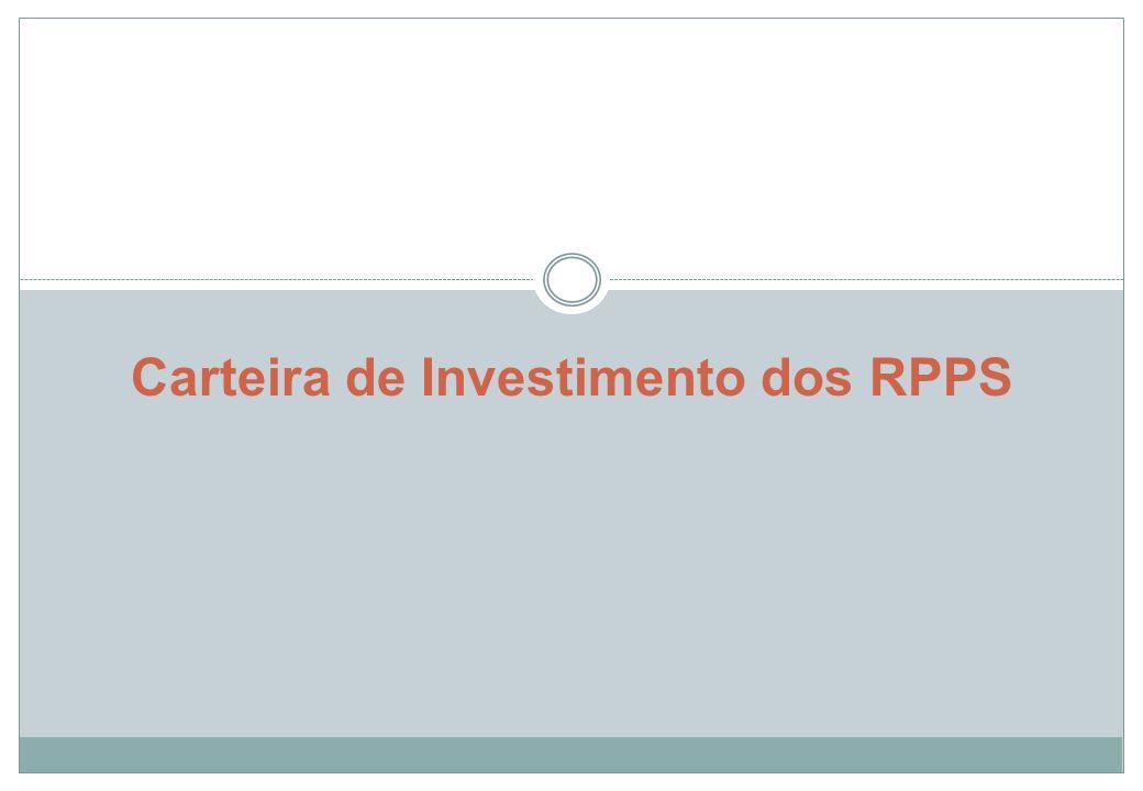 Carteira de Investimento dos RPPS