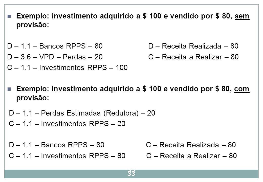 D – 1.1 – Bancos RPPS – 80 D – Receita Realizada – 80