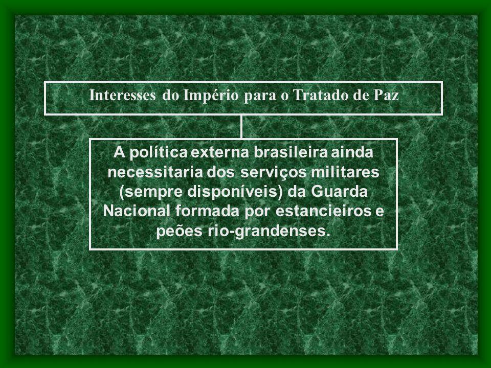 Interesses do Império para o Tratado de Paz