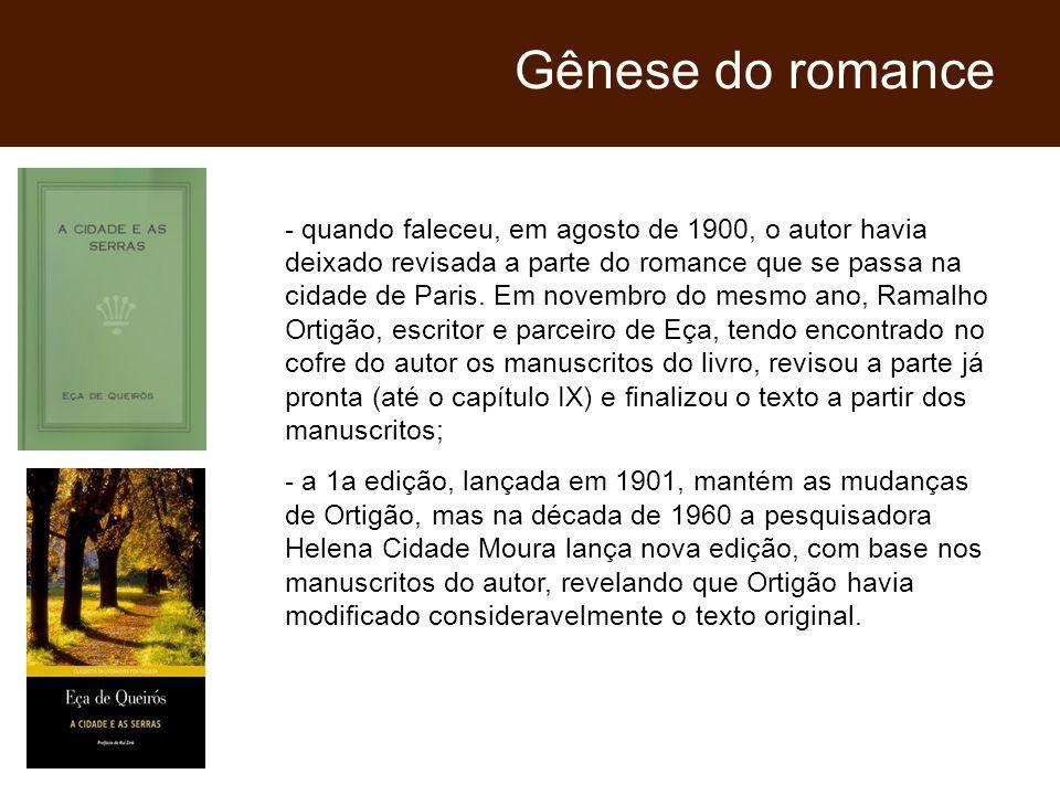 Gênese do romance