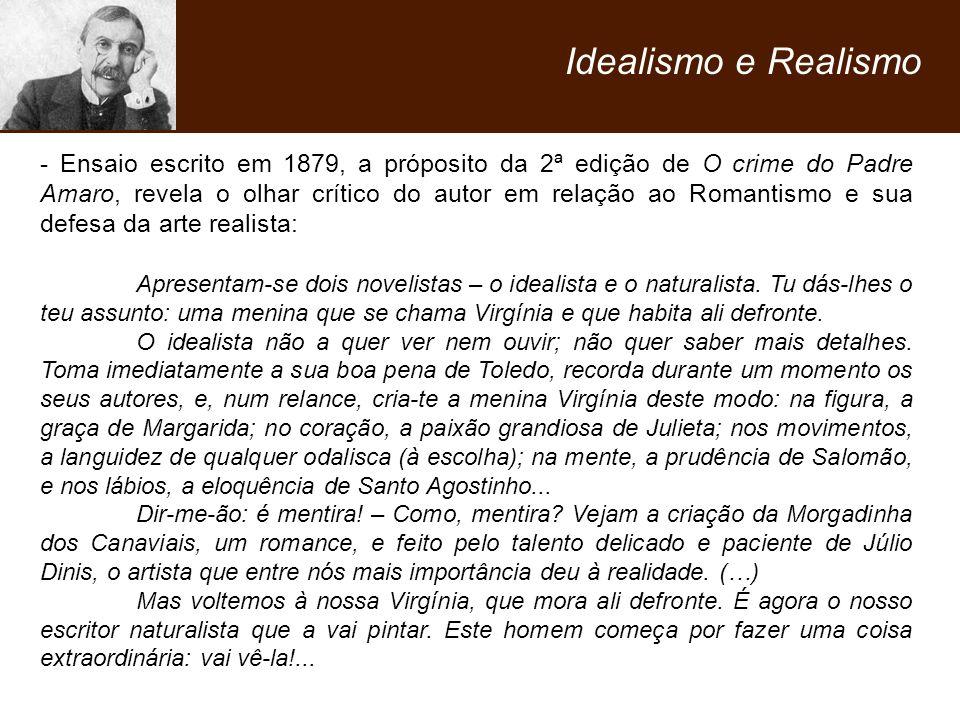 Idealismo e Realismo