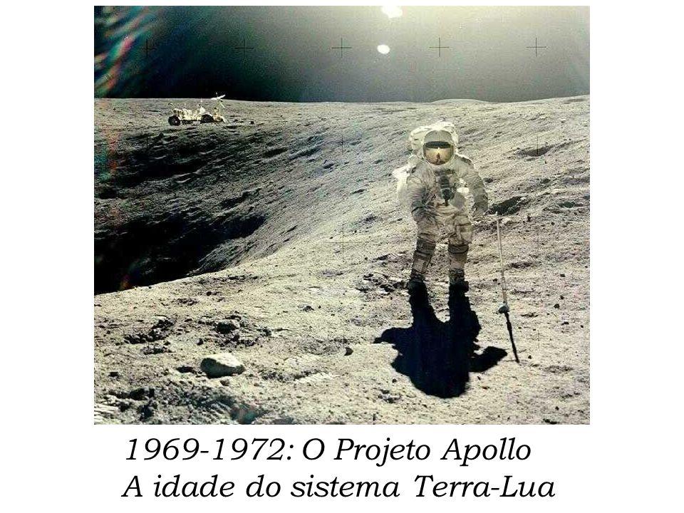 1969-1972: O Projeto Apollo A idade do sistema Terra-Lua