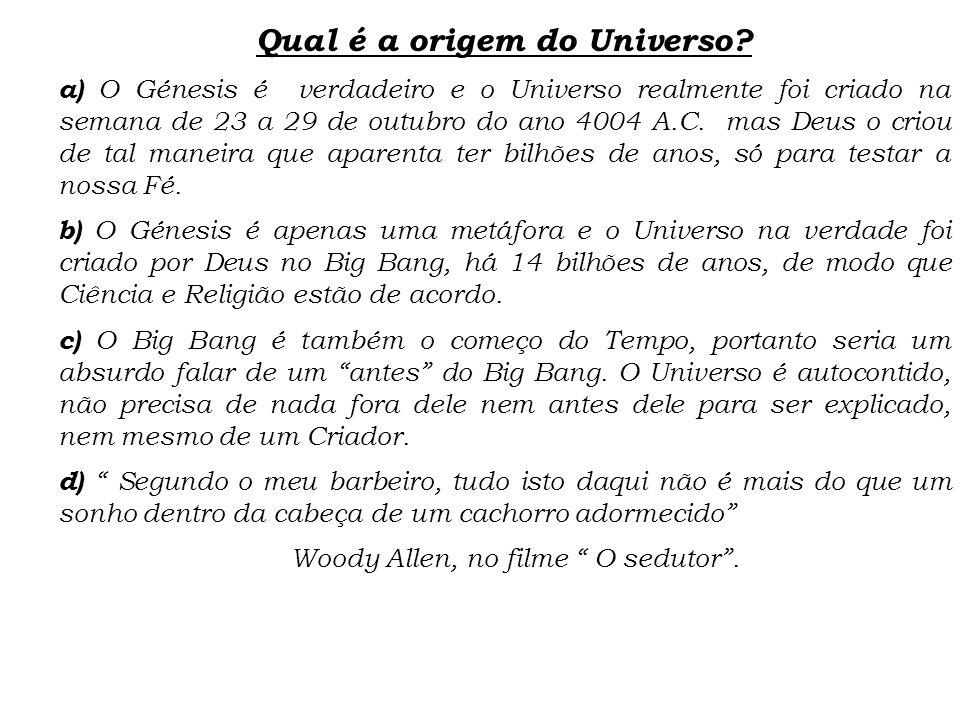 Qual é a origem do Universo