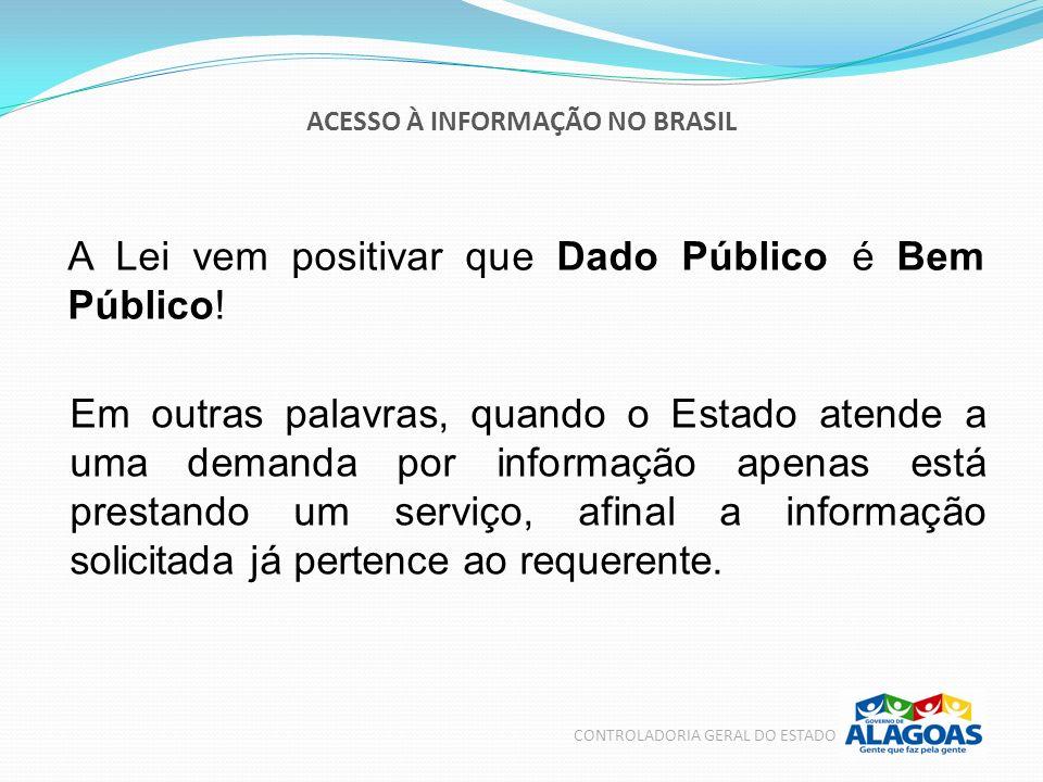 ACESSO À INFORMAÇÃO NO BRASIL