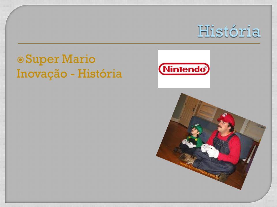 História Super Mario Inovação - História MARIO