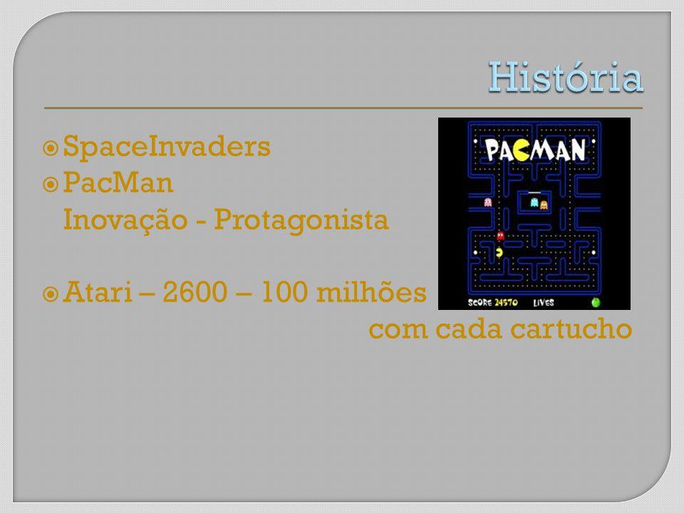História SpaceInvaders PacMan Inovação - Protagonista