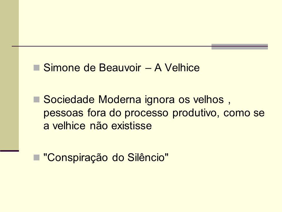 Simone de Beauvoir – A Velhice