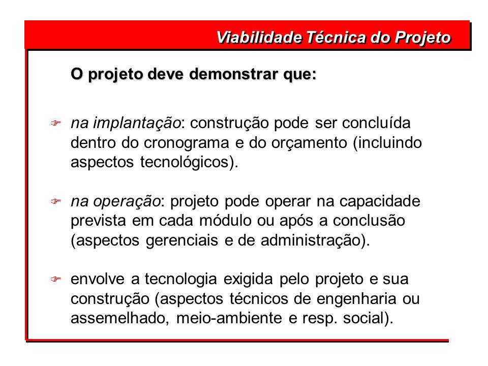 Viabilidade Técnica do Projeto