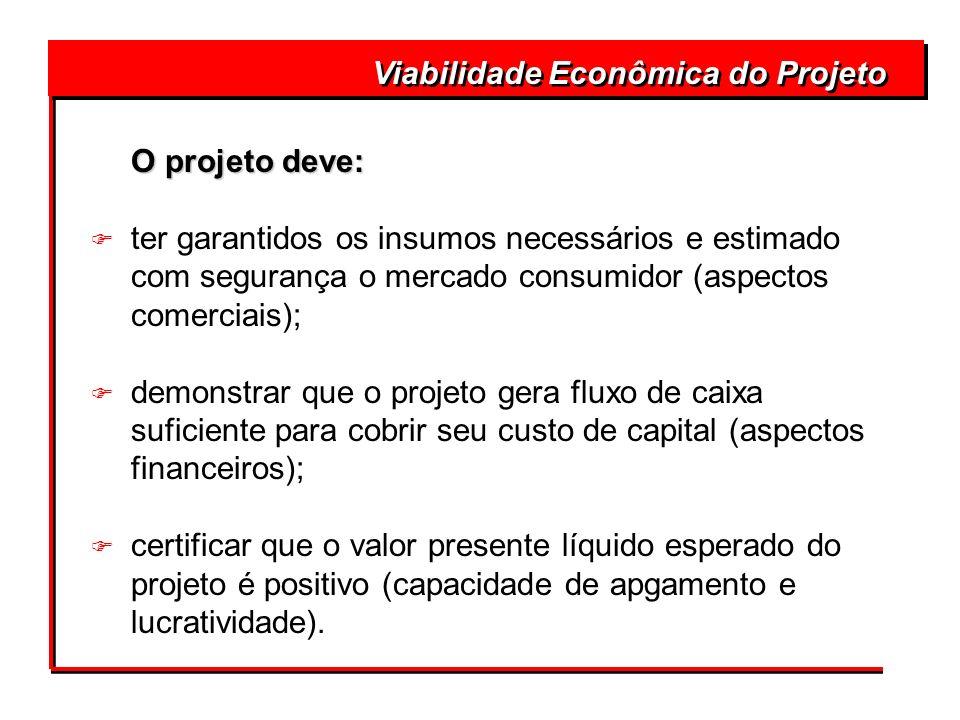 Viabilidade Econômica do Projeto