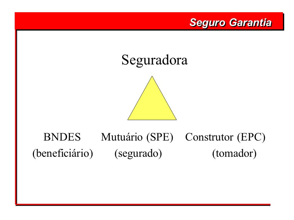 BNDES Mutuário (SPE) Construtor (EPC)