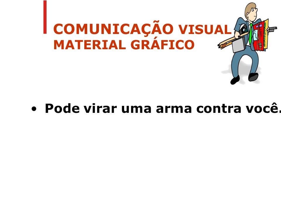 COMUNICAÇÃO VISUAL MATERIAL GRÁFICO