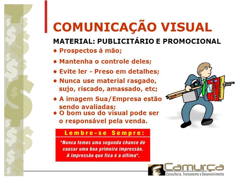 COMUNICAÇÃO VISUAL MATERIAL: PUBLICITÁRIO E PROMOCIONAL