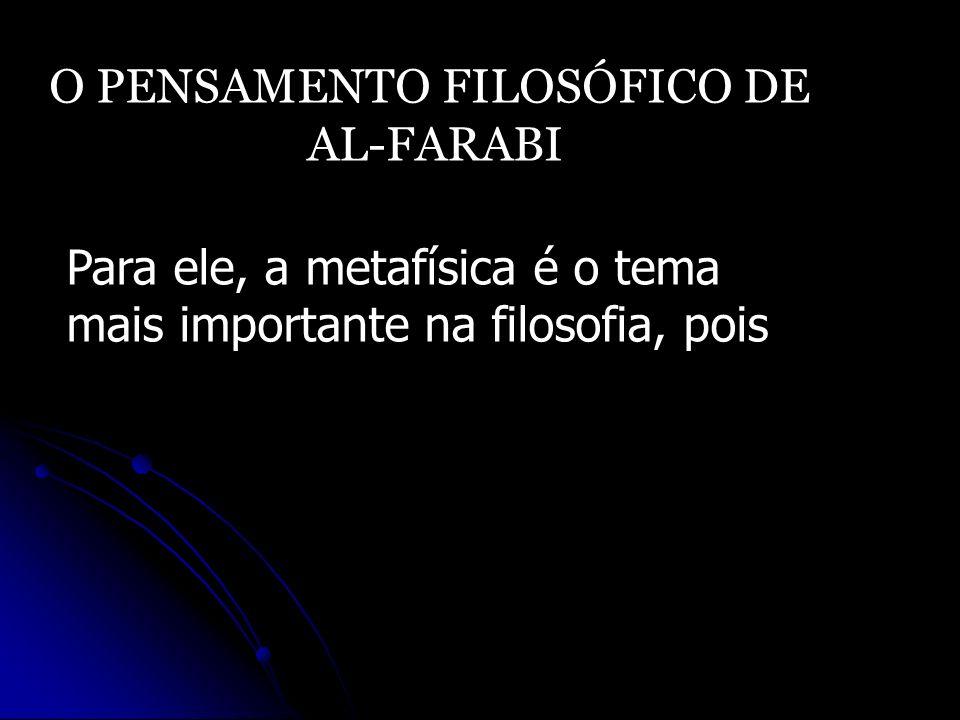 O PENSAMENTO FILOSÓFICO DE