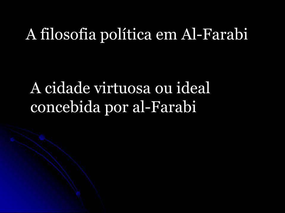 A filosofia política em Al-Farabi
