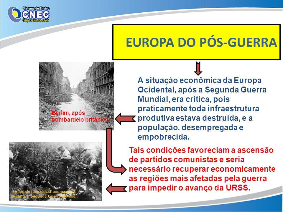 EUROPA DO PÓS-GUERRA