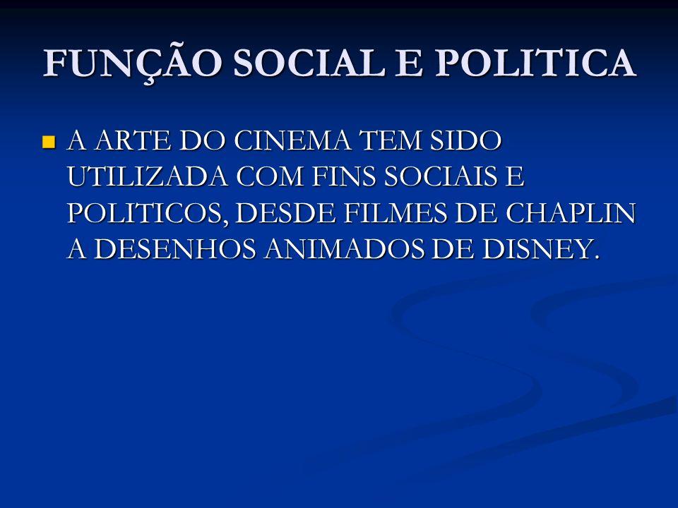 FUNÇÃO SOCIAL E POLITICA