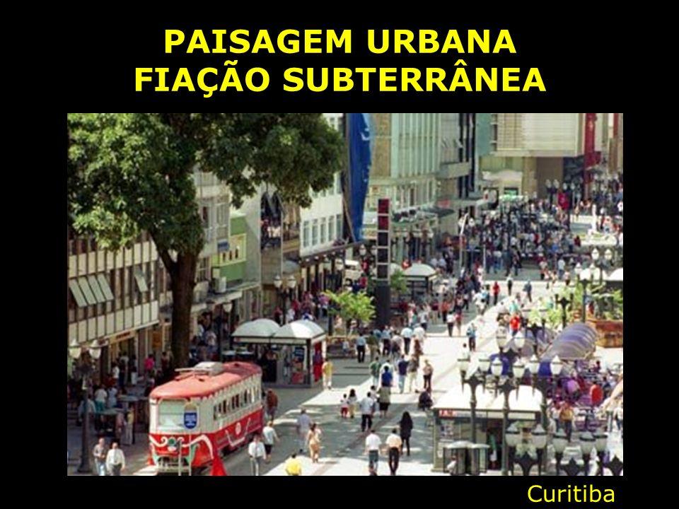 PAISAGEM URBANA FIAÇÃO SUBTERRÂNEA