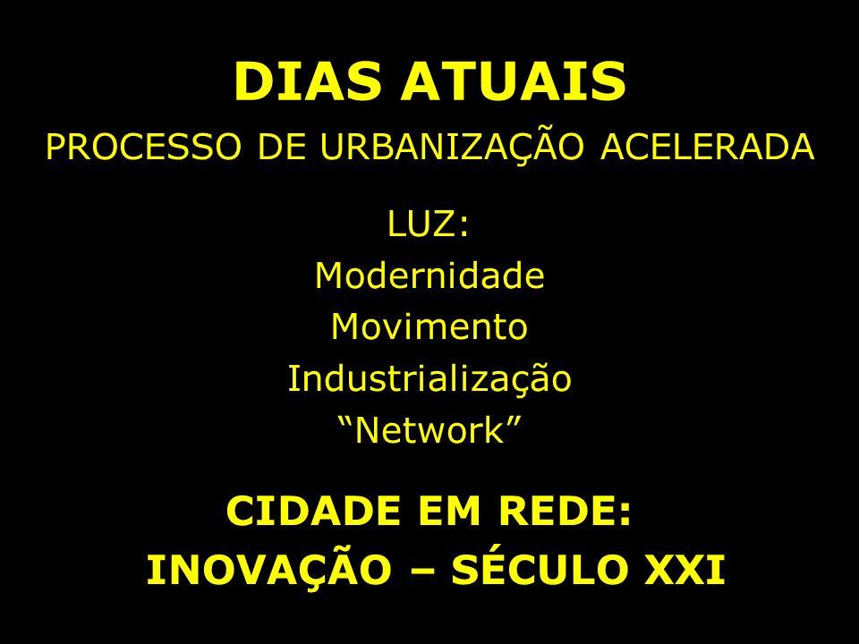 PROCESSO DE URBANIZAÇÃO ACELERADA