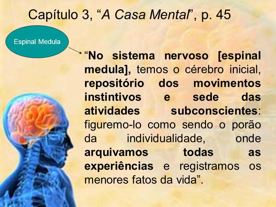 Capítulo 3, A Casa Mental , p. 45