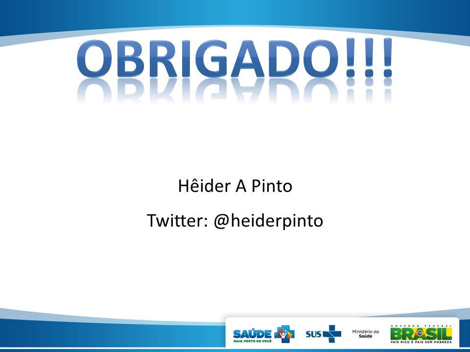 Twitter: @heiderpinto