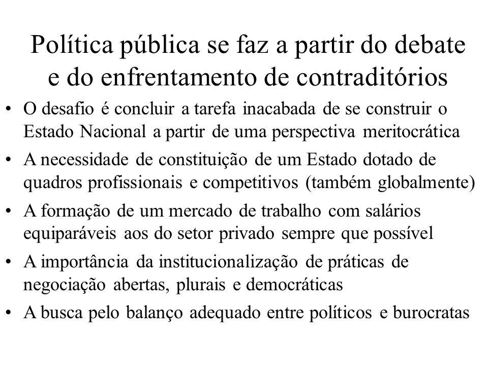 Política pública se faz a partir do debate e do enfrentamento de contraditórios