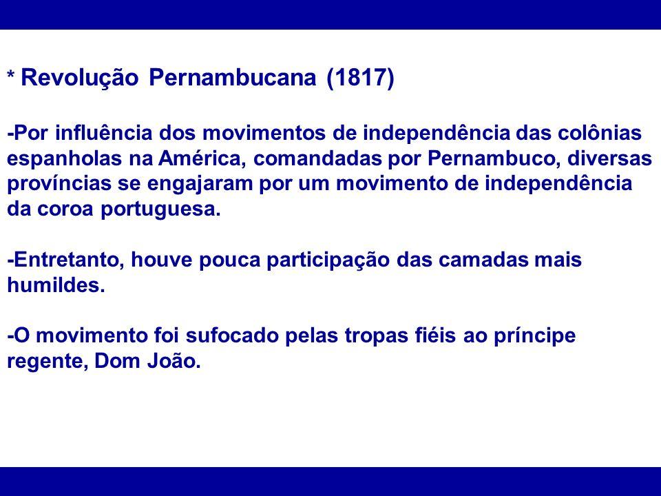 * Revolução Pernambucana (1817)