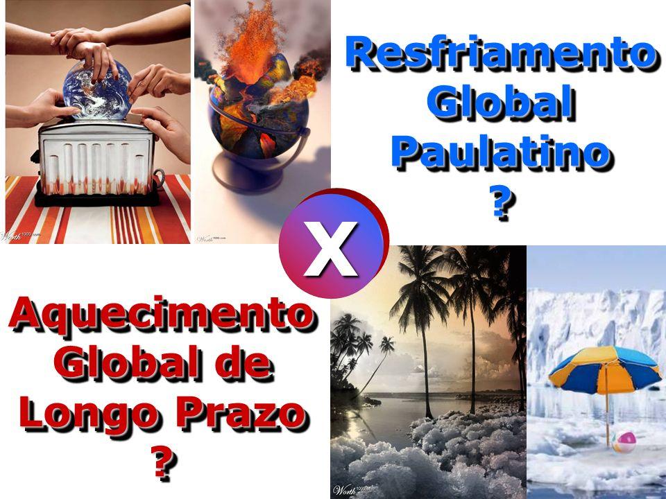 Resfriamento Global Paulatino Aquecimento Global de Longo Prazo