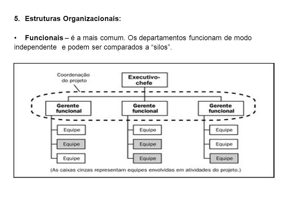 Estruturas Organizacionais: