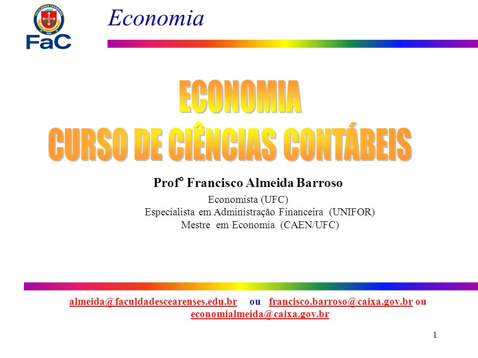 Prof° Francisco Almeida Barroso