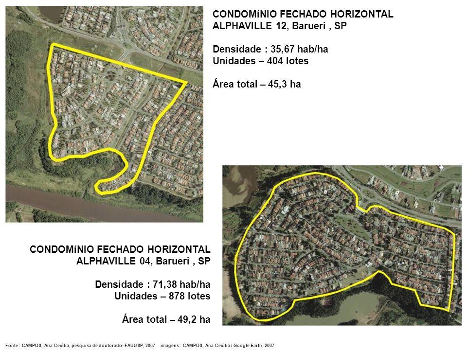 CONDOMíNIO FECHADO HORIZONTAL ALPHAVILLE 12, Barueri , SP