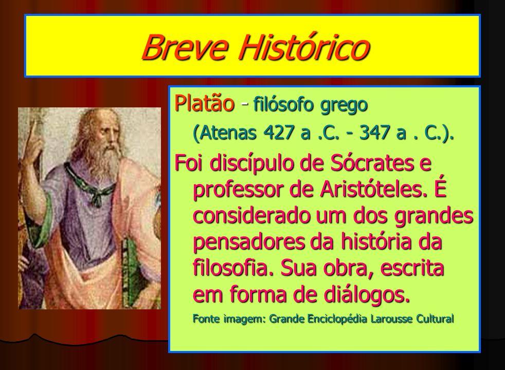 Breve Histórico Platão - filósofo grego