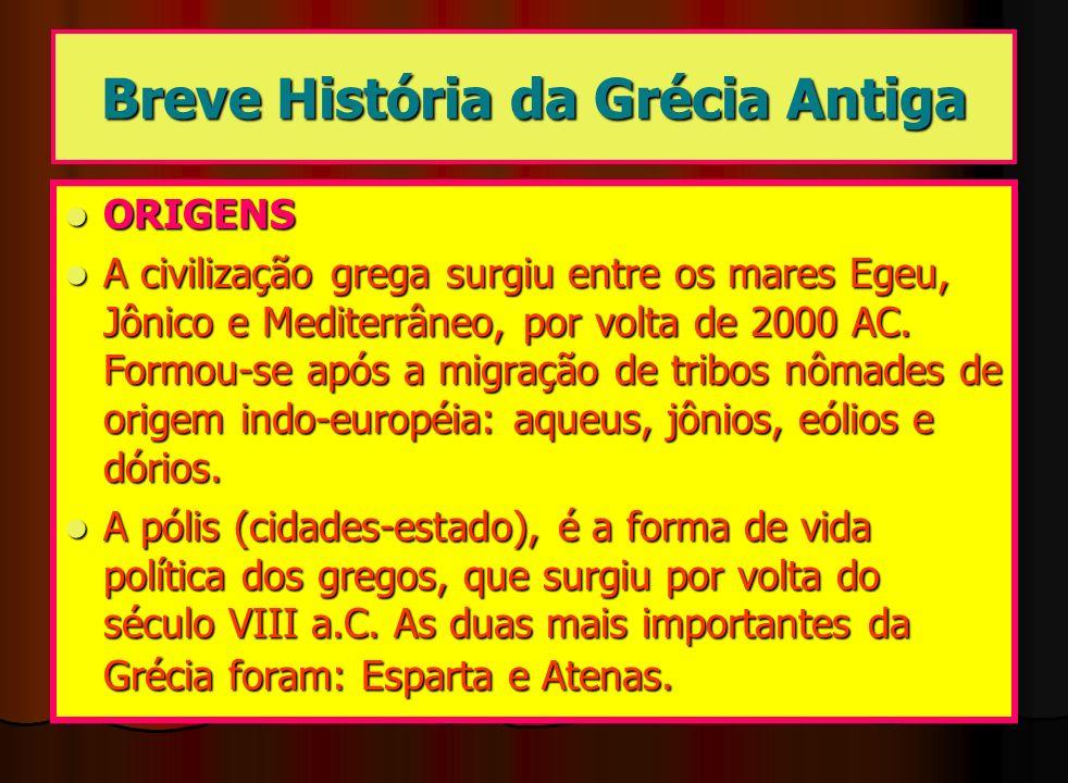 Breve História da Grécia Antiga