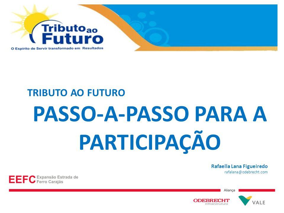 PASSO-A-PASSO PARA A PARTICIPAÇÃO