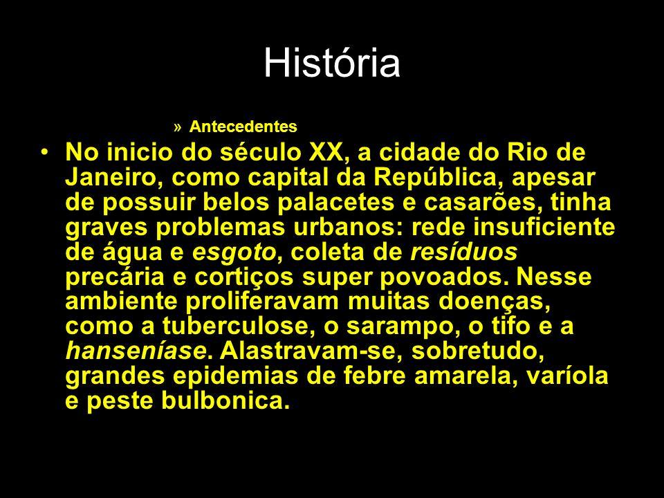 História Antecedentes.