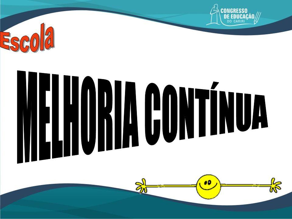 Escola MELHORIA CONTÍNUA