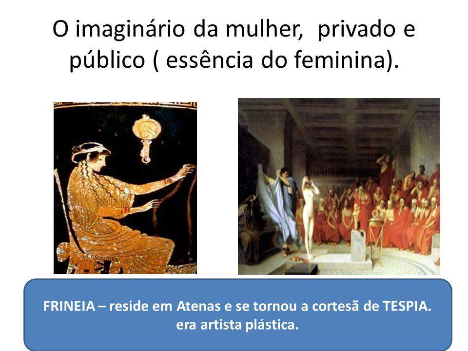 O imaginário da mulher, privado e público ( essência do feminina).