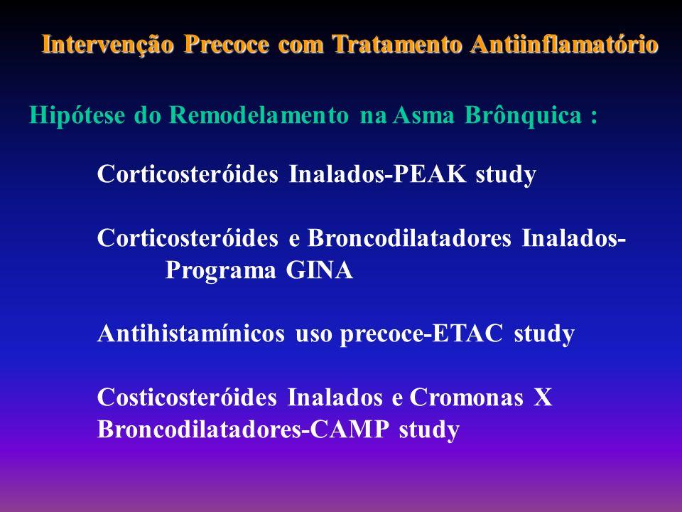 Intervenção Precoce com Tratamento Antiinflamatório