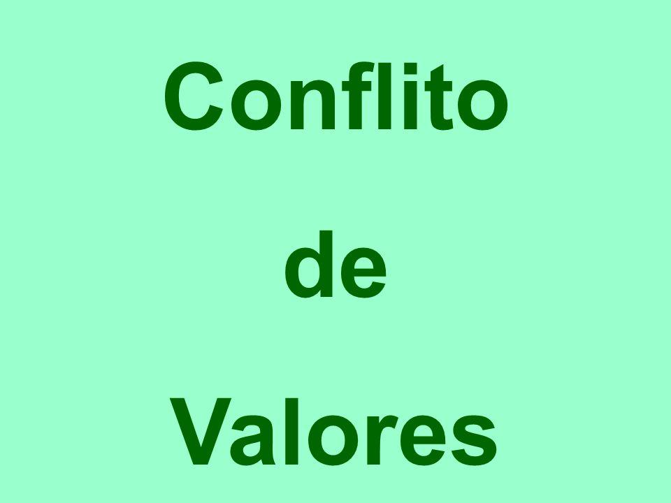 Conflito de Valores