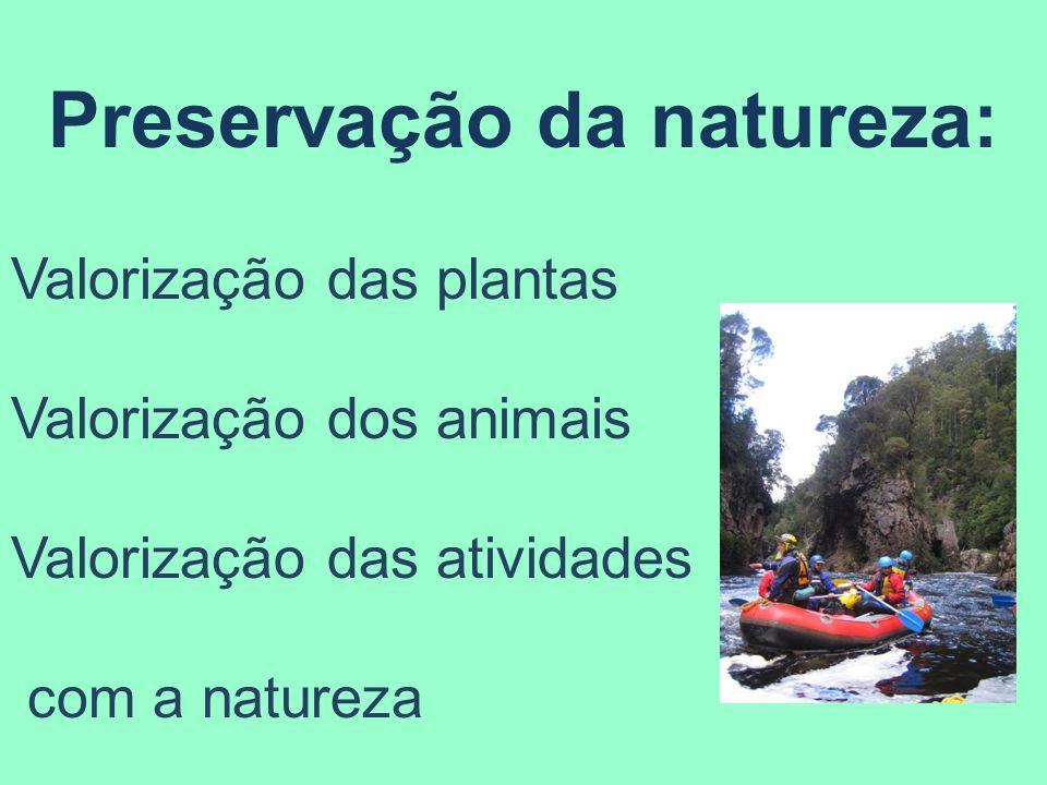 Preservação da natureza: