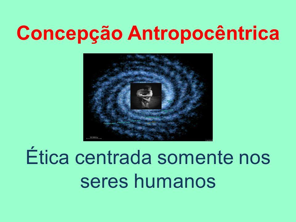 Concepção Antropocêntrica