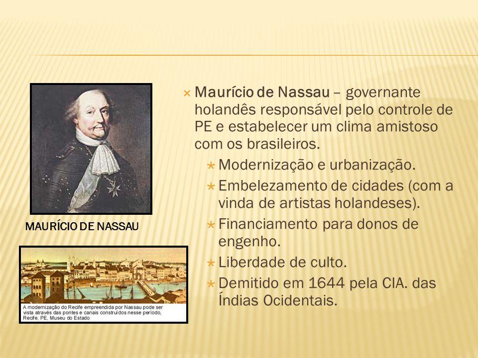 Modernização e urbanização.