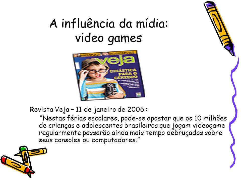 A influência da mídia: video games
